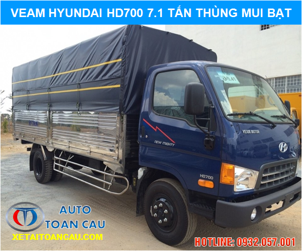 Hyundai Veam New Mighty HD700 7 tấn